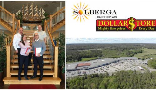 Solberga Handelsplats utökas med lågpriskedjan Dollarstore 11