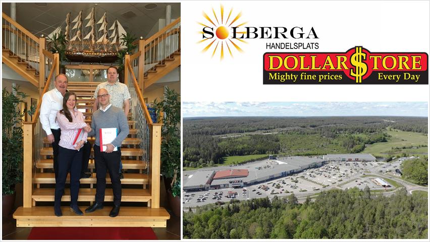 Solberga Handelsplats utökas med lågpriskedjan Dollarstore 1