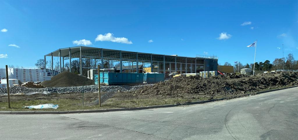 Byggprojekten inom Kilenkrysset flyter på 1