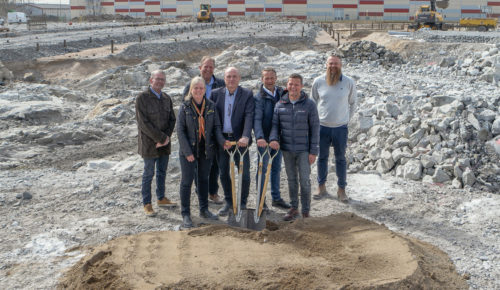 Byggnationen av verksamhetslokal åt Nybergs Deli, Haninge kommun 6
