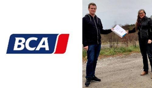 Kilenkrysset uppför anläggning åt BCA Vehicle Remarketing AB  i Strängnäs 17