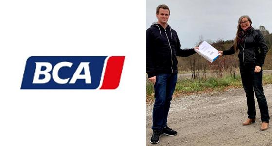 Kilenkrysset uppför anläggning åt BCA Vehicle Remarketing AB  i Strängnäs 1