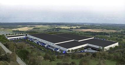 Kilenkrysset säljer 157 000 kvm mark till DSV i Rosersberg 11