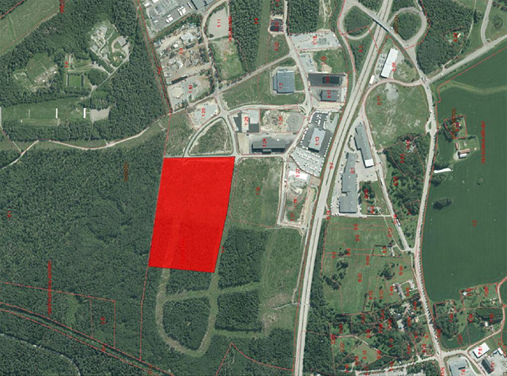 Kilenkrysset AB köper 100 000 kvm planlagd mark i Enköping 1